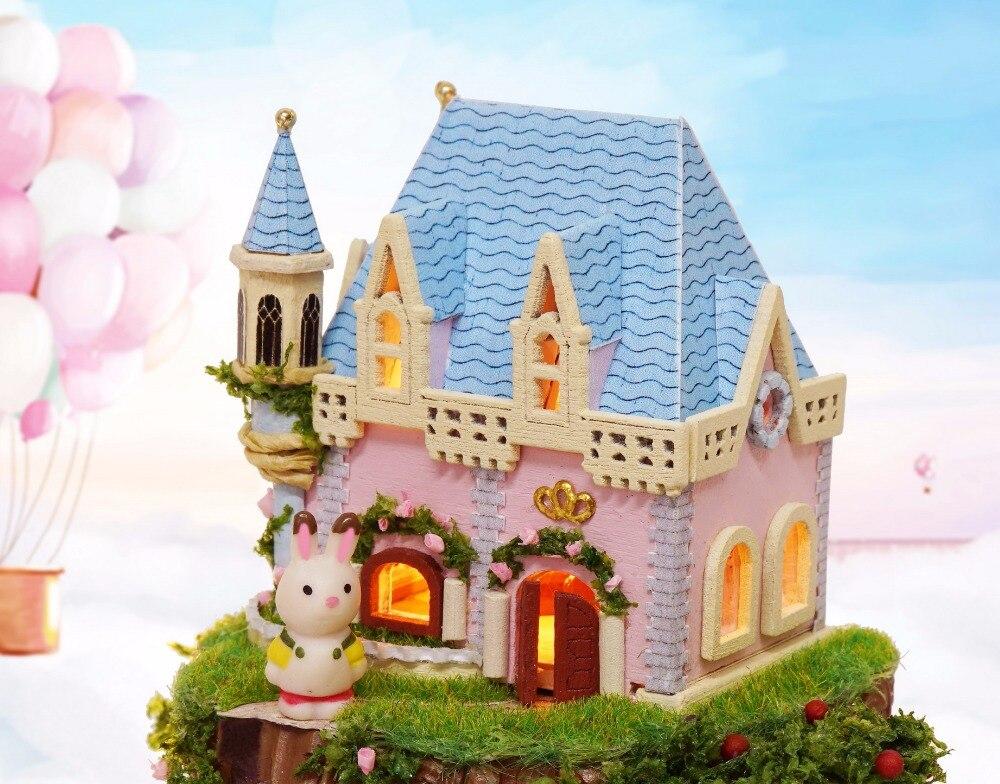 Casa de Muñecas Kit de Muebles Diy Miniatura Cubierta de Polvo 3D - Muñecas y accesorios - foto 4