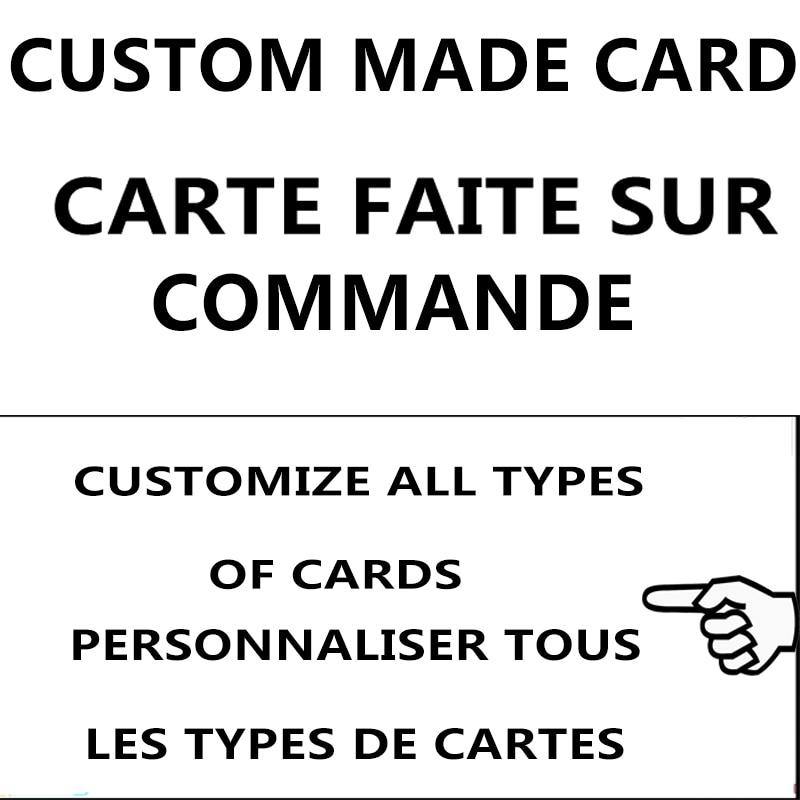 Carte Dragon Ball YU GI OH carte faisant une variété de cartes personnalisé lien dédié à la carte