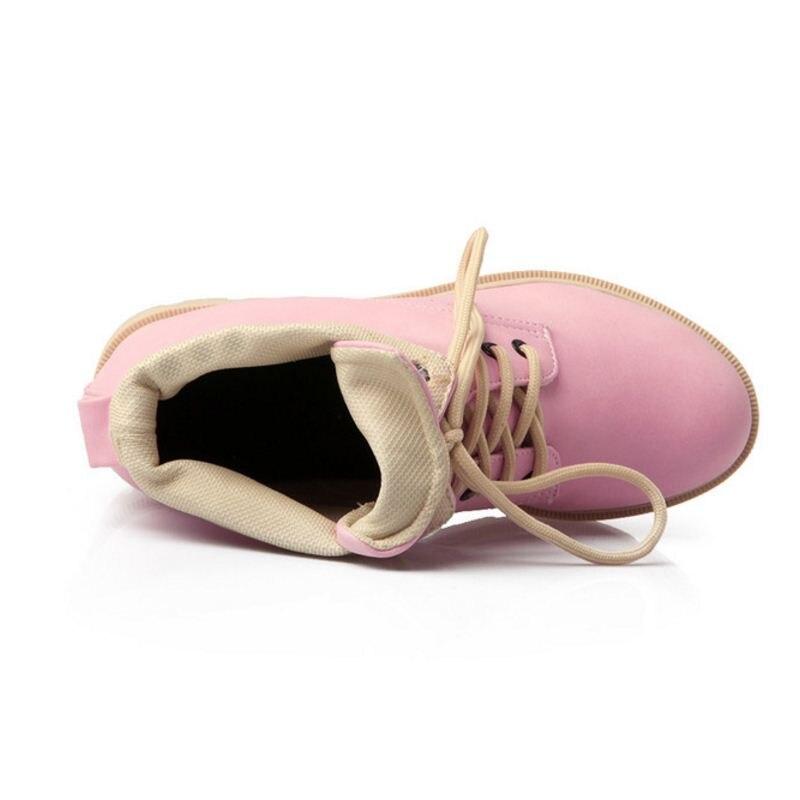 Calzado rosado Mujeres Zapatos Calientes blanco Tamaño 43 Casual Boots Mid Punta amarillo Moda Correa Negro Mujer Cruzada Planos Calf Flats 33 Redonda Remaches q4Rq6x