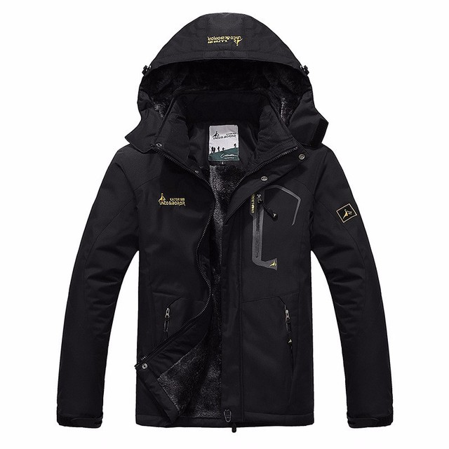 autumn winter Plus velvet thickening jacket Men's woman jacket waterproof windproof men's casual warm coat jacket size L-5XL 6XL