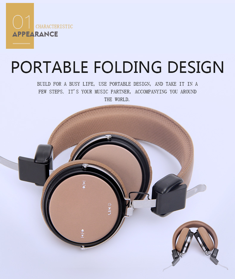 The explosion Original  ML700 Wireless Bluetooth headphones& wireless headset with Microphone for mobile phone music earphone