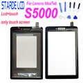Nuovo per Il Lenovo Ideatab S5000 Display Lcd di Tocco Digitale Dello Schermo Del Pannello Frontale Touchscreen Assemblea di Vetro di Ricambio Tablet