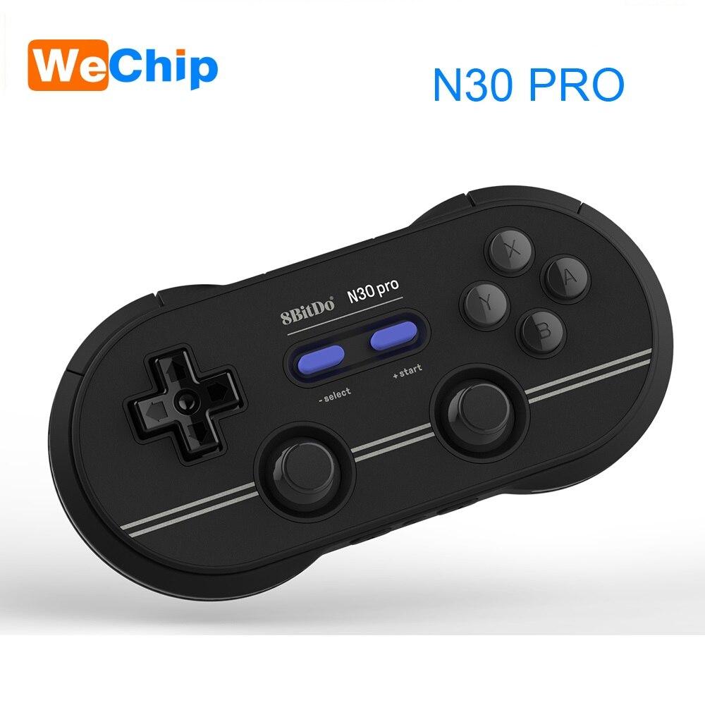 8bitdo N30 Pro 2 Contrôleur Sans Fil de Bluetooth Double Joystick Classique Pc pour Android SNES Gamepad Contrôleur de Jeu PC Commutateur macOS - 4