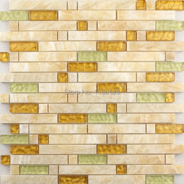 stone coloured bathroom tiles mixed glass tiles yellow color for bathroom 20688