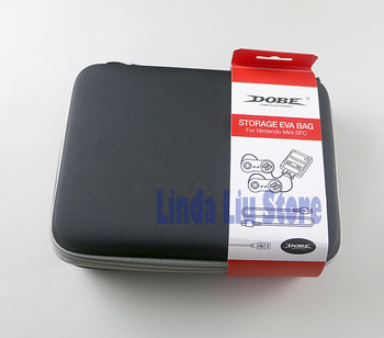 6pcs/lot For MINI SFC Travel Carrying Case Game Console Portable Protective Hard Carry Case Anti Shock Storage Eva Bag