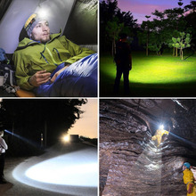 Waterproof Rechargeable LED Headlight 10000LM