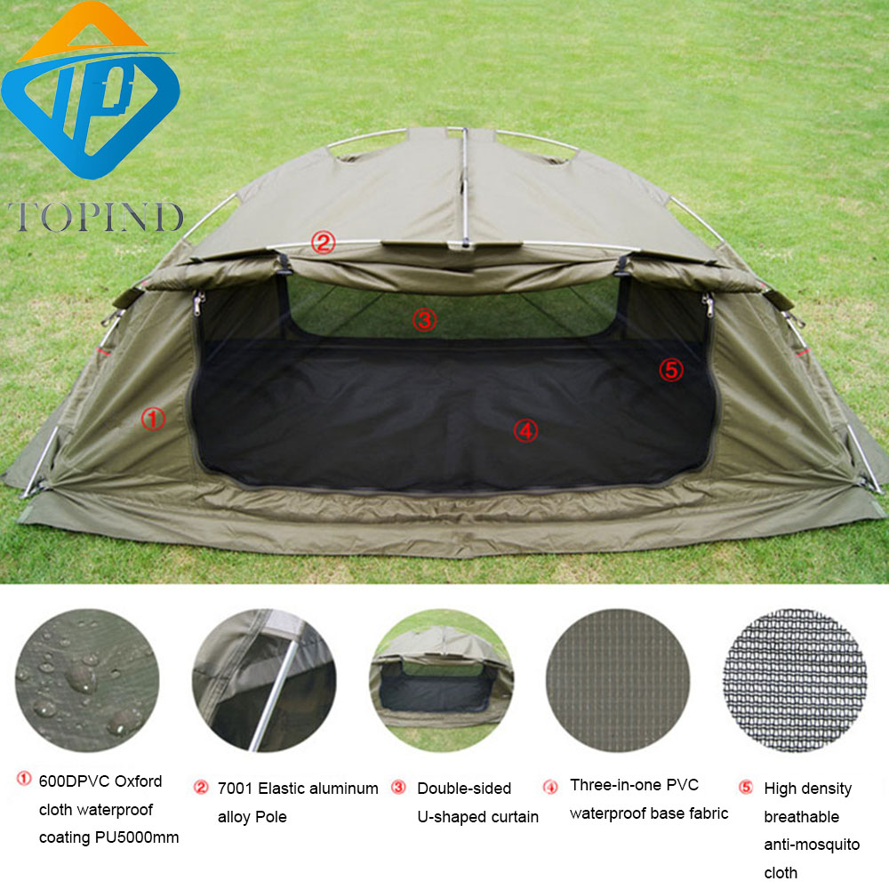 Portable 2 Person off the ground tentsUltralight C&ing Hiking Tent Cot TOPIND hammockfishing chair bed-in Fishing Chairs from Sports u0026 Entertainment on ...  sc 1 st  AliExpress.com & Portable 2 Person off the ground tentsUltralight Camping Hiking ...