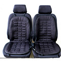 Winter Warmer Car Covers Pad Car Seat Cushion Electric Heated Car Heating Hot Seat Covers Universal Conjoined Supplies Black