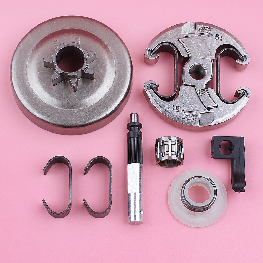 Clutch Drum  325 8T Sprocket Rim Oil Pump Worm Gear Kit For