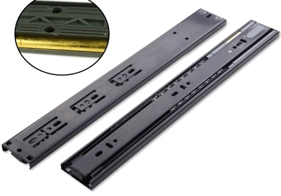 Cheap three buffer hydraulic damping cabinet drawer rails mute slide rail track ball Tongxin free shipping xc3020 70pcg68c new original and goods in stock