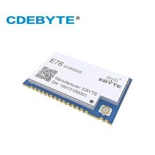EFR32 915 МГц 100 мВт E76-915M20S SMD беспроводной приемопередатчик на большие расстояния 20dBm SOC ARM 915 МГц передатчик приемник rf модуль