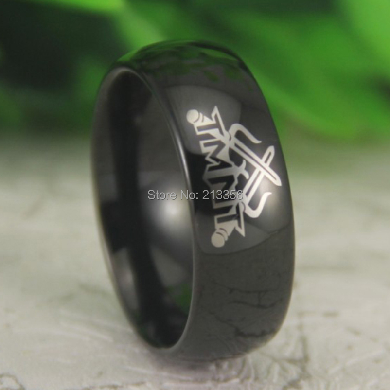 Free Shipping Usa Hot Sales E C Tungsten Jewelry Good Quality 8mm