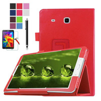 XSKEMP Business Folding Stand Smart PU Leather Cover For Samsung Galaxy Tab E 9 6 SM