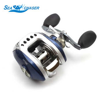 Carbon fishing Casting Rod and Casting Reels Set Lures combination line 1.8m-2.7m telescopic fishing rod fishing fish pole