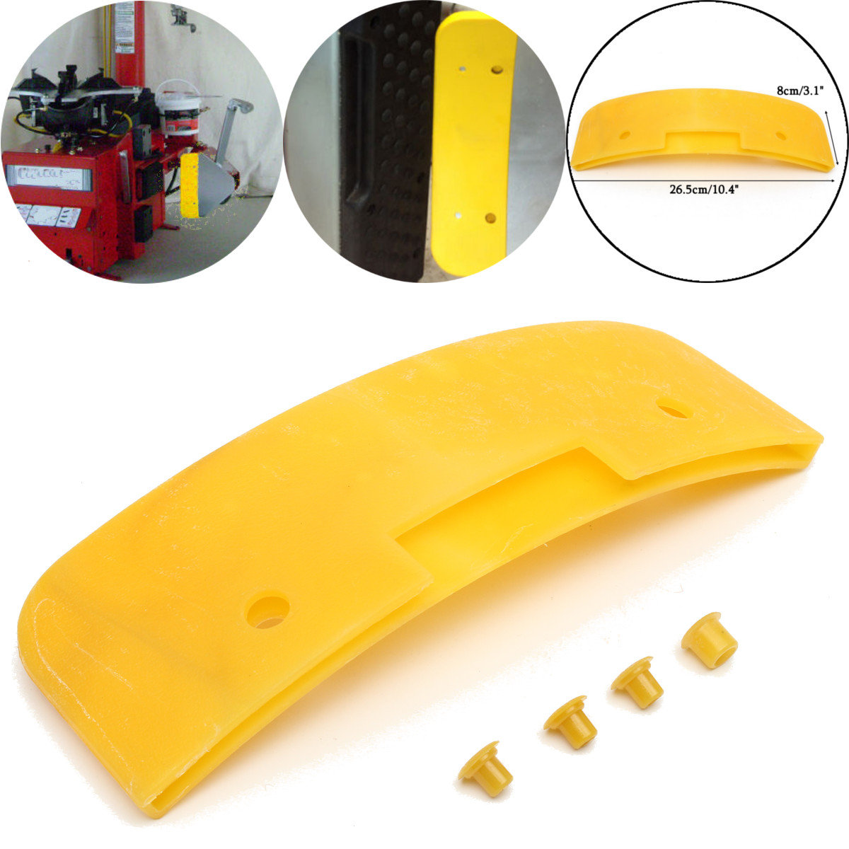 Wheels Tires Rim Clamp Bead Breaker Blade Protector Cover Tire Accessories