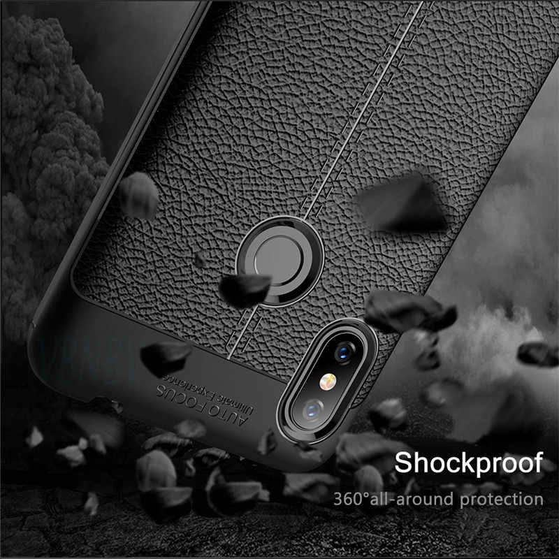 Mewah TPU Lembut Kulit Case untuk Xiao Mi Mi 8 Se Pro Lite Mi X 3 Max 3 F1 A2 Lite kasus Telepon untuk Red Mi 6A Note 4 4X Note 5 6 Pro