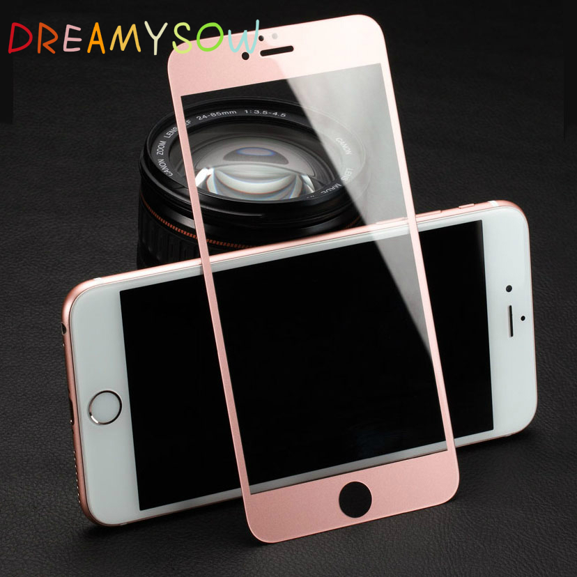 Full Cover Tempered Glass Film For iPhone 6 6S 9H Hardness Screen Protector For iPhone 6 S plus Glass Phone Cover Film