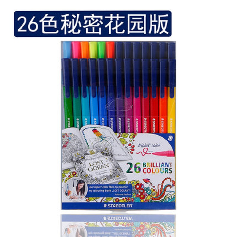 Triangle rod washable neon color paint pen 26 colorsTriangle rod washable neon color paint pen 26 colors