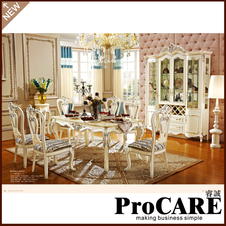 dining table set of 4 style natural marble font carved wood french 8 chairs malaysia fantastic furniture