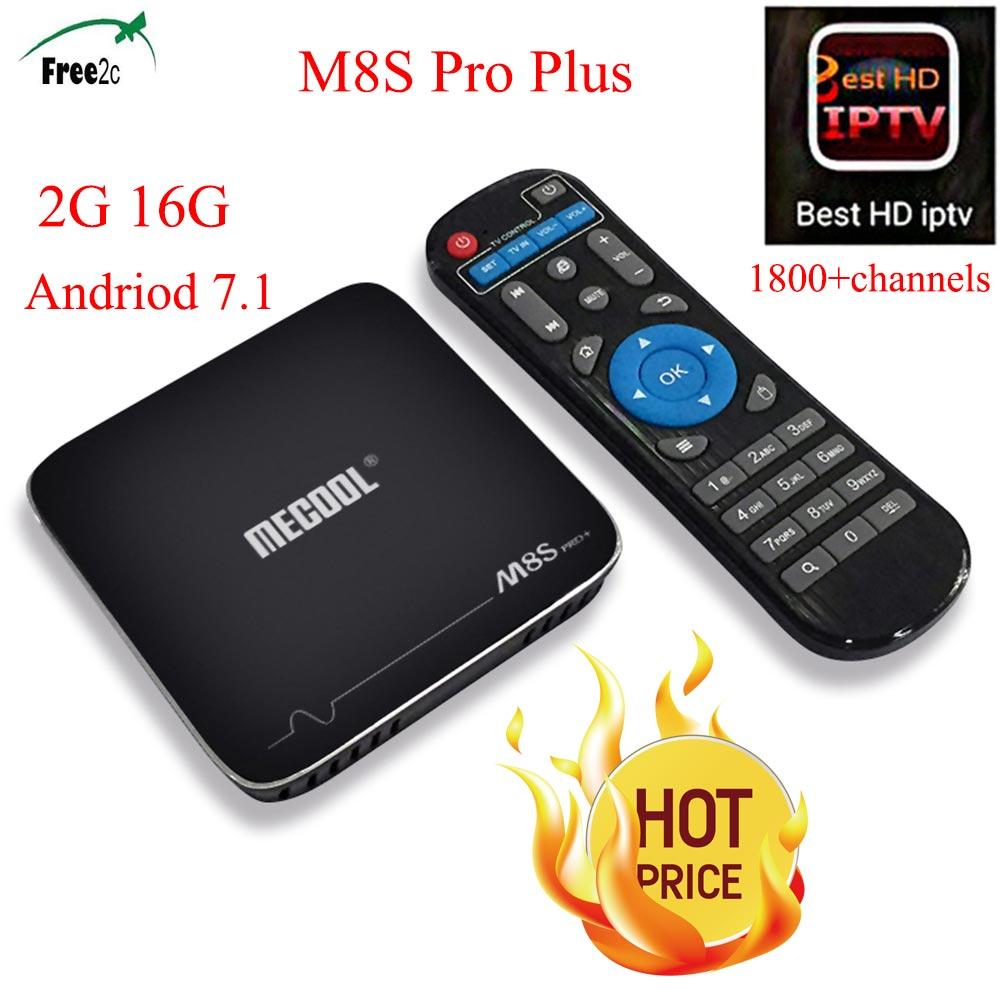 M8S Pro Plus smart 2G/16G Android 7.1 Amlogic S905X TV Box  1 Year Europe IPTV subscription 2000+French/Italy Live&VOD channels promoitalia пировиноградный пилинг pro plus пировиноградный пилинг pro plus 50 мл 50 мл 45%