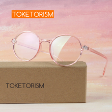 Toketorism Round glasses fashion woman optical frames vintage female spectacle 7142