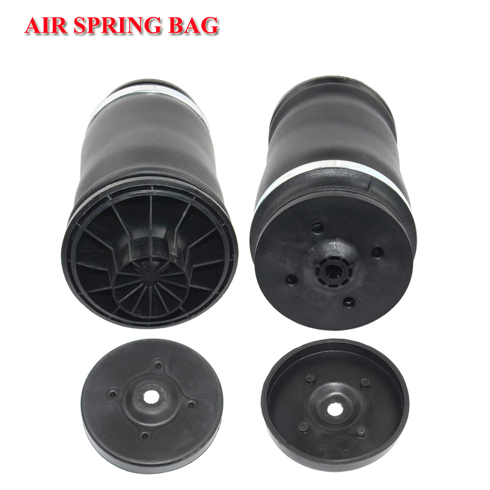 2pcs BRAND NEW REAR AIR RIDE SUSPENSION Natural RUBBER AIR SPRING BAG For Mercedes benz W164 GL Class A1643200625 A1643200925