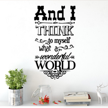 Fun quote Family Wall Stickers Mural Art Home Decor For Kids Room Living Vinyl Decal muursticker