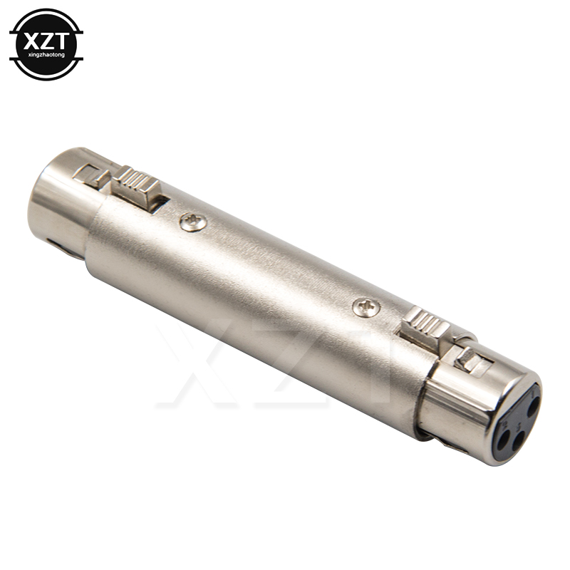 Hot Sale 3 Pin Xlr Female To Xlr Female Jack Connector