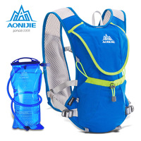 AONIJIE Lightweight Running Backpack Male Female Marathon Cycling Bags Running Vest Kettle Sport Bag Waterproof Nylon