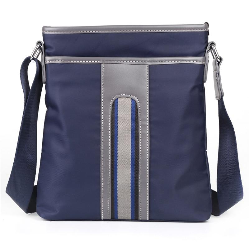 Men Women Fashion Waterproof Nylon Shoulder Bags Casual Sports Crossbody Bag Messenger B ...