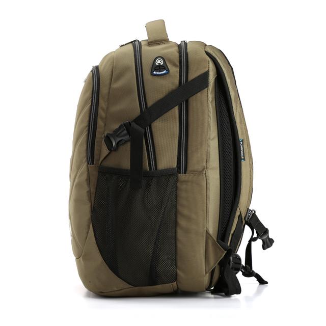 Kingsons Shockproof Laptop Backpacks Male Bag Large Capacity Notebook Backpack School Bag Teenager Boy Mochila Militar