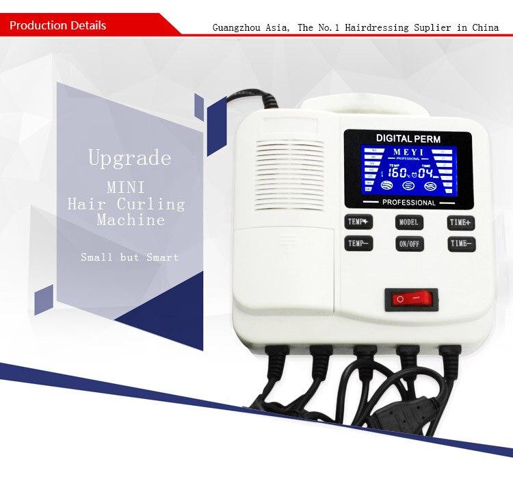 atualize o uso domestico mini maquina de ondulacao do cabelo digital portatil perm maquina de ondulacao
