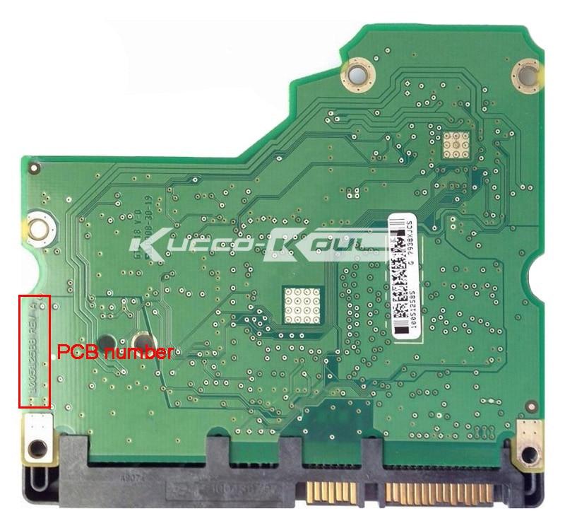 Hard Drive Parts PCB Logic Board Printed Circuit Board 100512588 For Seagate 3.5 SATA Hdd Data Recovery Hard Drive Repair