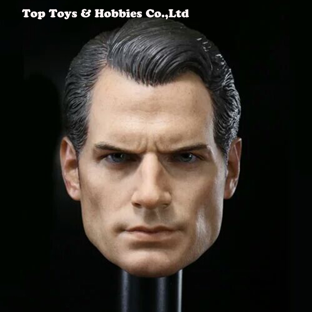 1/6 Scale BVS Superman Henry Cavill Head Sculpt For 12