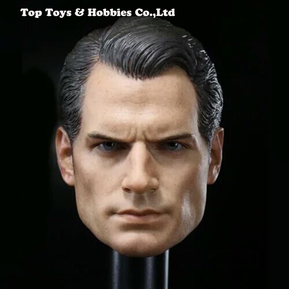 1/6 Scale BVS Superman Henry Cavill Head Sculpt For 12