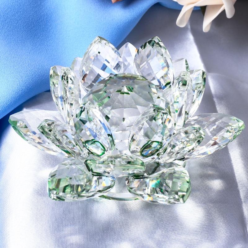 Crystal Lotus Figurine 5