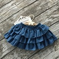 super soft bab girls skirts boutique skirts  jeans mini tutu skirt suits infant children schoolgirl summer midi pettiskirt