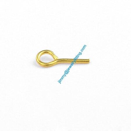 Ювелирных Изделий выводы Глаз Медными Штырьками Pins; Шарф Pins выводы 0.7*8 мм