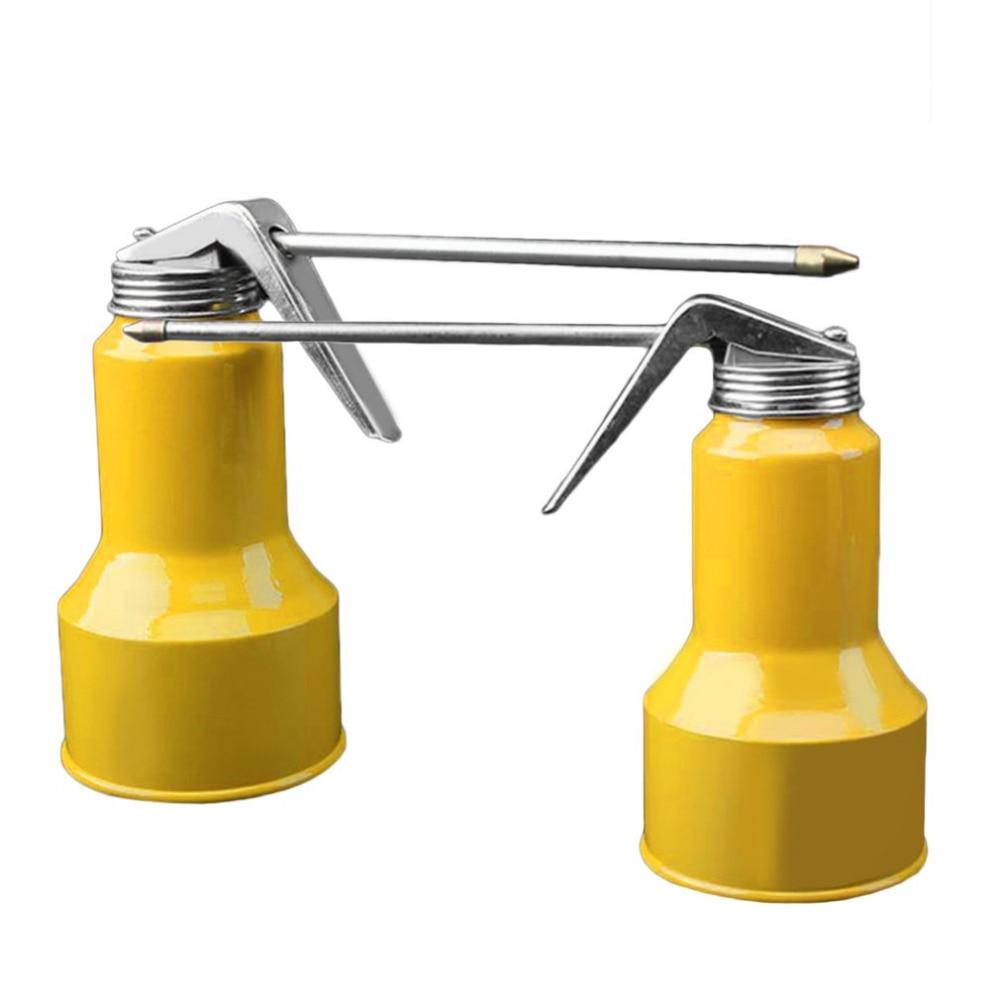 OUTAD New Aluminum Alloy High Pressure Feed Oil Gun Pump Oiler Kettle Portable Machine Oiler Grease Flex Spray Gun high quality