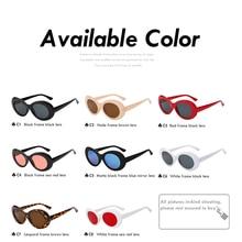 XIU Cateye Women Sunglasses Classic Retro Vintage Oval Sunglasses for Women Brand Designer Eeywear Top Quality UV400 Oculos