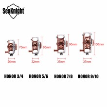 SeaKnight Honor Fly Fishing Reels 3/4 5/6 7/8 9/10 Machined Aluminum Full Metal Fly Fishing Wheel Saltwater Freshwater Fishing