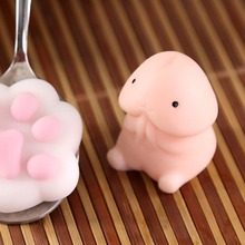 New Funny Penis Shape Slow Rebound PU Decompression Toy Rising Stress Relief Toys Relax Pressure Interesting Gifts