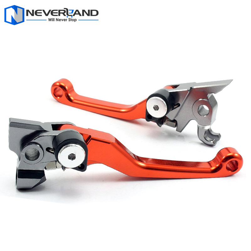 CNC Pivot Brake Clutch Levers for KTM 450EXC 250SX-F 250XC-F 450 EXC 250 SX-F XC-F 2007 2008 2009 2010 2011 2012 2013 motorcycle front and rear brake pads for ktm exc r450 2008 sx f 450 usd 2003 2008 xc f xcr w 450 2008 black brake disc pad