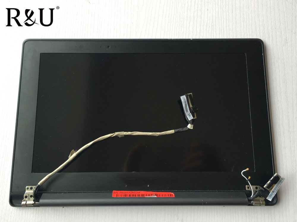 R&U test good LED lcd display touch screen digitizer assembly 1920*1080 with AB cover Upper half set For Asus TAICHI 21 TAICHI21