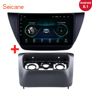 Image 1 - Seicane אנדרואיד 8.1 2Din 9 אינץ רכב Wifi GPS מולטימדיה נגן למיצובישי לנסר ix 2006 2007 2008 2009 2010 כולל מסגרת