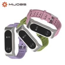 Dla Miband 2 pasek silikonowy dla Xiaomi Mi Band 2 bransoletka nadgarstek inteligentne zegarki Miband 2 Wrist Band Smartwatch akcesoria tanie tanio MIJOBS Pasek na nadgarstek Niemiecki Rosyjski english Dla dorosłych For Xiaomi mi Band 2 Pilot zdalnego sterowania Passometer