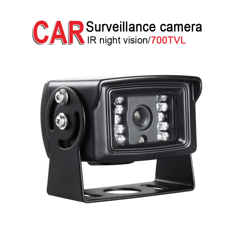 Free Shipping,700TVL Metal Waterproof IR Night Vision Rear View Camera,1/3 CCD Sony,Vehicle Car Bus Taxi Vans Parking Assistance ahd 2 0mp indoor truck mini camera ir night vision 1 3 ccd sony pal 3 6mm for vehicle school bus vans taxi surveillance security
