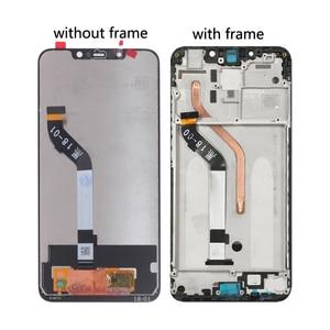 Image 3 - מקורי לxiaomi Pocophone F1 LCD תצוגת מסך מגע Digitizer חלקי טלפון POCO F1 מסך LCD תצוגת החלפת כלי