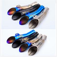 Universal 36mm 51mm Akrapovic Motorcycle GP Scooter Exhaust Pipe Muffler for Z750 R1 R3 MT03 FZ1