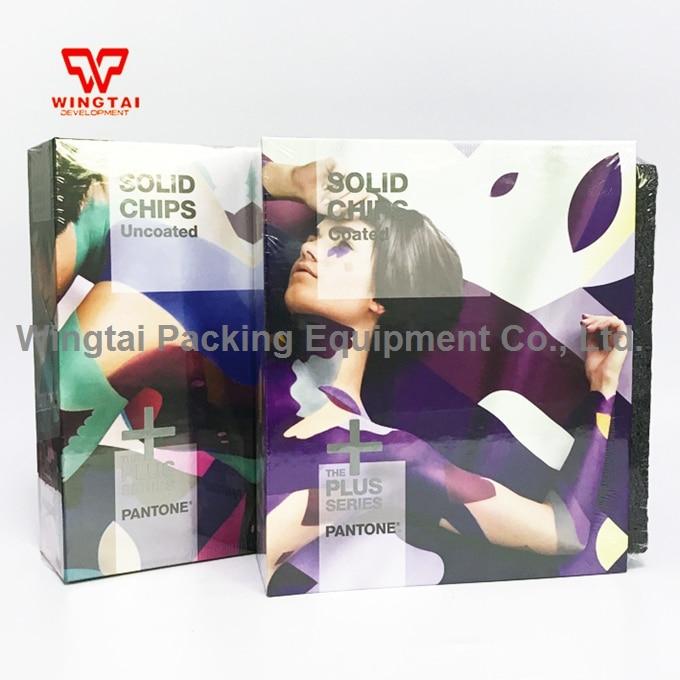New International Pantone SOLID CHIPS Coated & Uncoated Color Chart GP1606N цветовой справочник pantone metallic chips coated [gb1507]